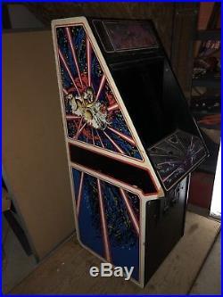 100% Complete Original ATARI TEMPEST Arcade Machine Color Vector XY Monitor