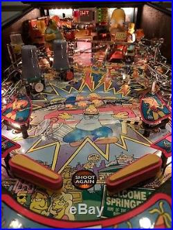 100% Mint Simpsons Pinball Party Stern Pinball Machine Home Use Only