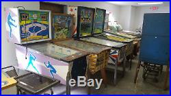 1956 Williams Deluxe 4 Bagger Pitch and Bat Pinball Machine