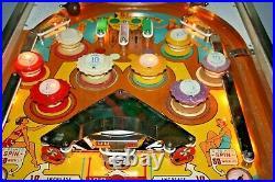 1960S GOTTLIEB RARE SEA SHORE Pinball Machine IN GOOD CONDITION