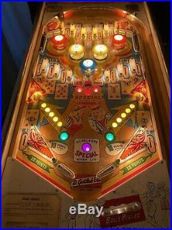 1963 Gottlieb Sweethearts Pinball Machine