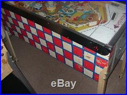 1965 GOTTLIEB SKYLINE Wedgehead (Animated baskglass) Popular Pinball