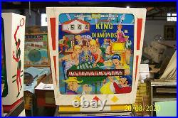 1967 Gottlieb King of Diamonds Pinball Machine