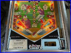 1967 Touchdown Pinball Machine Williams Classic