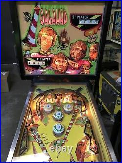 1970 Bally Pinball Machine Galahad Working Rare 2 Player