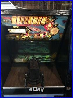 1971 Chicago Coin Defender Coin-Op Machine Gun WWII Theme Pilot Game