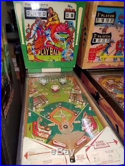 1971 Gottlieb Playball Pinball Machine