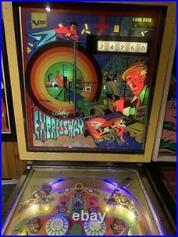 1971 ballys expressway pinball machine restored and working