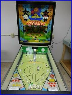 1972 Williams Line Drive Baseball Pitch & Bat, Pinball Restorations Eustis, FL