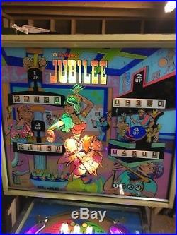 1973 Jubilee Pinball Game