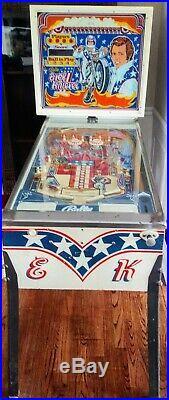 1977 Bally's Evel Knievel Pinball Machine