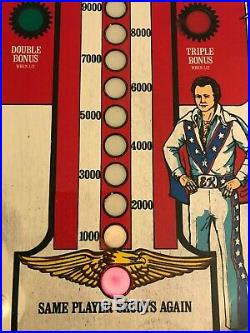 1977 Original BALLY Evil Knievel Home Pinball Machine