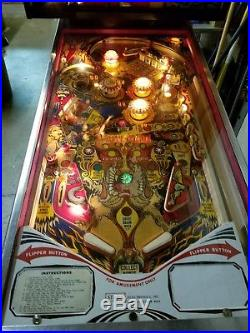 1977 Stern Dracula pinball machine