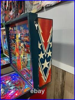 1978 Bally Six Million Dollar Man Pinball Machine Classic Leds Plays Great