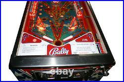 1978 Bally The Six Million Dollar Man pinball machine
