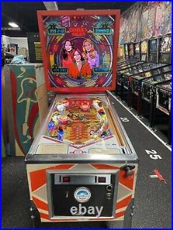 1978 Gottlieb Charlies Angels Pinball Machine Cheryl Ladd Jaclyn Smith K Jackson