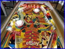 1978 Gottlieb Charlies Angels pinball machine, Pinball Restorations Eustis, FL
