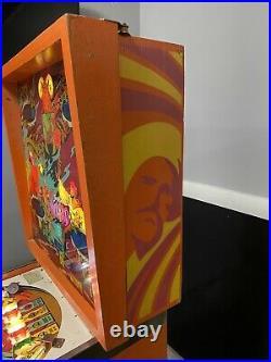 1978 Gottlieb Sinbad Pinball Machine Classic Leds Professional Techs Worked On
