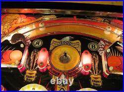 1978 Vintage Mata Hari Bally Original Vintage Restored Pinball Machine