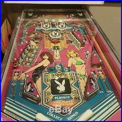 1978 playboy pinball orignal ballys low starting bid