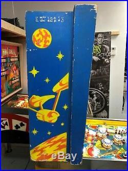 1979 Bally Classic Star Trek Pinball Machine Kirk Spock The Original Leds Nice