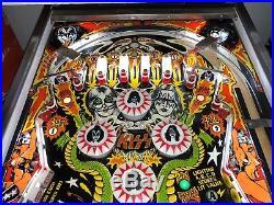 1979 Bally KISS Pinball Machine SUPER NICE ORIGINAL LEDS $499 SHIPS