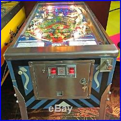 1979 Williams TIME WARP PINBALL MACHINE Professionally Serviced by RAY & MAT