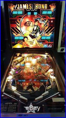 1980 Gottlieb James Bond 007 Pinball Machine LED Upgrade