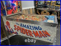 1980 Gottlieb The Amazing Spiderman Spider Man Leds Plays Great Rare