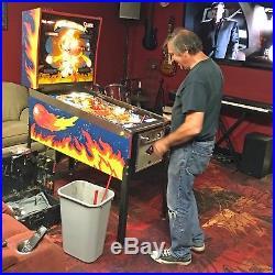 1985 Bally FIREBALL CLASSIC PINBALL MACHINE PRO Serviced By RAY / GRC Pinball