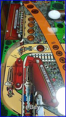 1985 Vintage Williams COMET Pinball Machine Home Use Only Condition