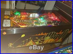 1985 William's Comet Pinball Machine Excellent Condition