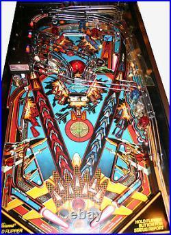 1987 Williams F-14 TOMCAT pinball machine