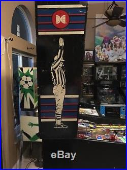 1989 Data East Monday Night Football Pinball Machine Leds $399 Ship Very Nice