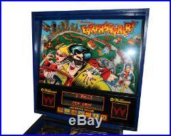 1989 Williams Earthshaker pinball machine -GREAT condition