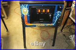 1990 Data East Back To The Future Pinball Machine Original Nice Condition