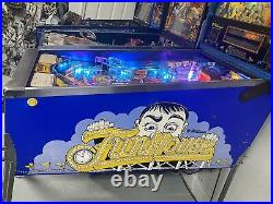 1990 Funhouse Pinball Machine Full Leds Plays Great Pat Lawlor