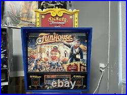 1990 Funhouse Pinball Machine Total Restore New Playfield Gorgeous