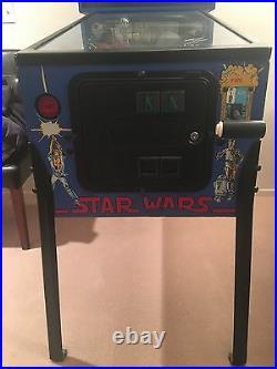 1990 vintage Star Wars pinball machine