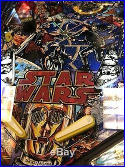 1990s Star Wars Vintage Pinball Machine