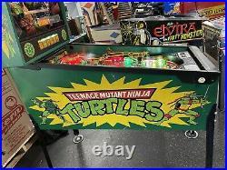 1991 Teenage Mutant Ninja Turtles Pinball Machine Leds The Original