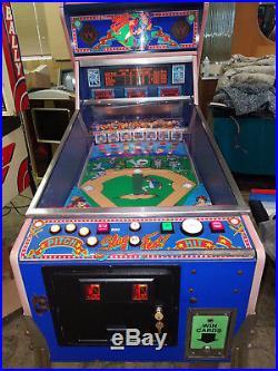 1991 Williams Slugfest Pinball Machine Last of the Baseball Pitch and Bat