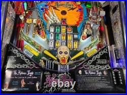 1992 Addams Family Pinball Machine Leds Color DMD Extras Galore Super Playfield