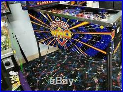 1992 Bally Doctor Who Pinball