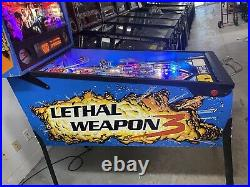 1992 Data Lethal Weapon 3 Pinball Machine Leds Nice