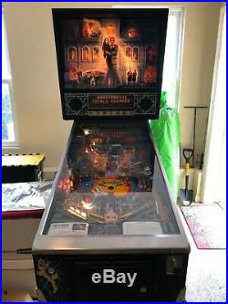1994 ADDAMS FAMILY PINBALL Special Collectors Edition in Fantastic Condition