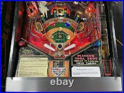 1995 Gottlieb Big Hurt Pinball Machine Baseball Frank Thomas