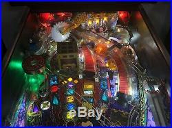 1995 Theatre Of Magic Pinball Machine Leds Nice Tiger Saw Mod Leds