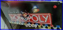 2001 Monopoly Pinball Machine Stern Pinball Machine Arcade Free Shipping