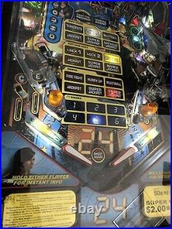 24 (The Show) Pinball Machine Stern